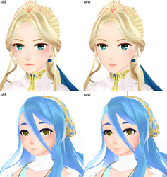 [FEMMD] New Face Textures by Nintendraw