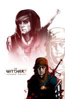 Vernon Roche study :: Witcher2 by erebus-odora