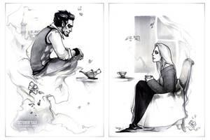 October Tale: sketch I by erebus-odora