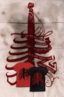 Am Abgrund: t-shirt design by erebus-odora