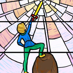 Stained Glass by TheBookwormMaddy