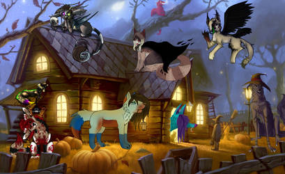 Halloween Collab 2015 FINAL by simanunan