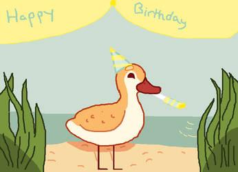 Happy birthday Kemikel by Themaskedartist08