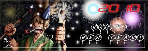 Happy New Year by Ming-Hatsu