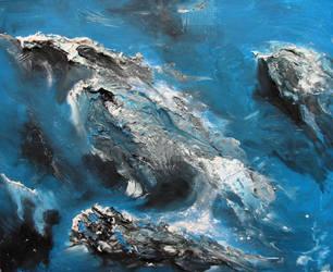 Blue Sea by moraywatson