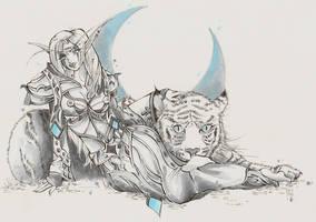 Warcraft - Janette by moorunpott