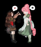 Aurora meet Cass by ES-Dinah