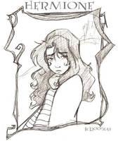Glum Hermione by lberghol