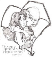 Happy Birthday Hermione - HP by lberghol