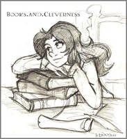 Books.n.Cleverness - HP by lberghol