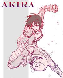 Akira Rival Schools by ksc2303