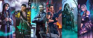 Shadowrun S.O.T.A. ADL Archetypes by KARGAIN