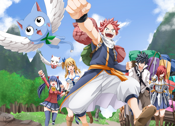 Fairy Tail Final -545- by claudiadragneel