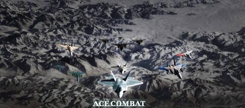 Ace Combat by anarchemitis
