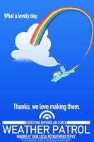 Weather Patrol - Rainbow Dash by anarchemitis