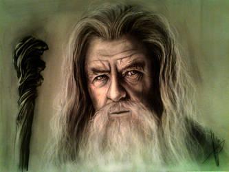 Gandalf by HrvojeSilic
