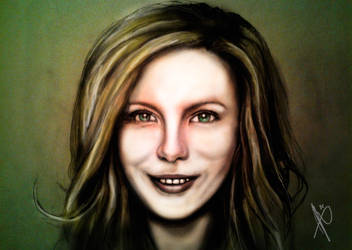 Kate portrait 2 by HrvojeSilic
