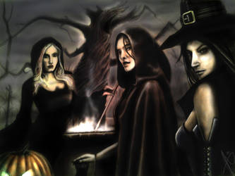 The coven by HrvojeSilic