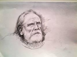 Jeor Mormont sketch by HrvojeSilic