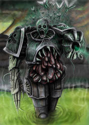 Plague marine by HrvojeSilic