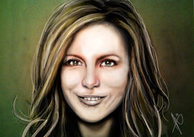 Kate portrait 2 remastered by HrvojeSilic