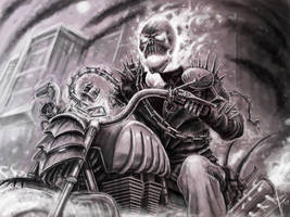Ghost rider by HrvojeSilic
