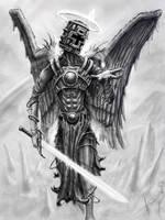 Repenting angel by HrvojeSilic