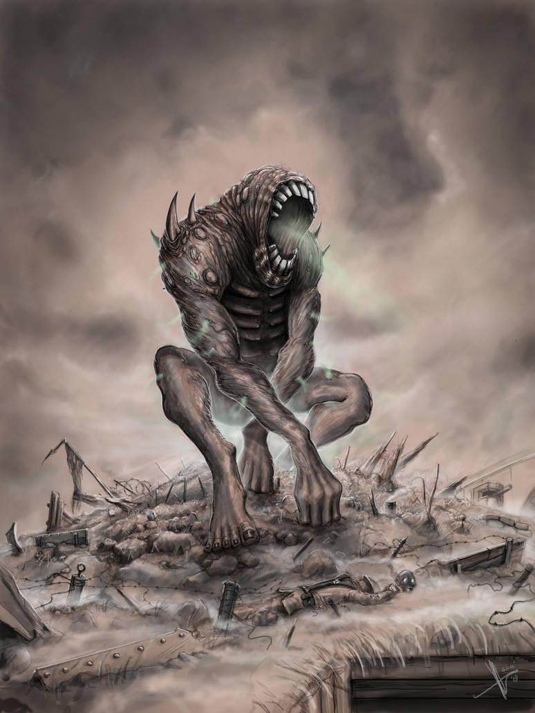 Poison gas demon by HrvojeSilic