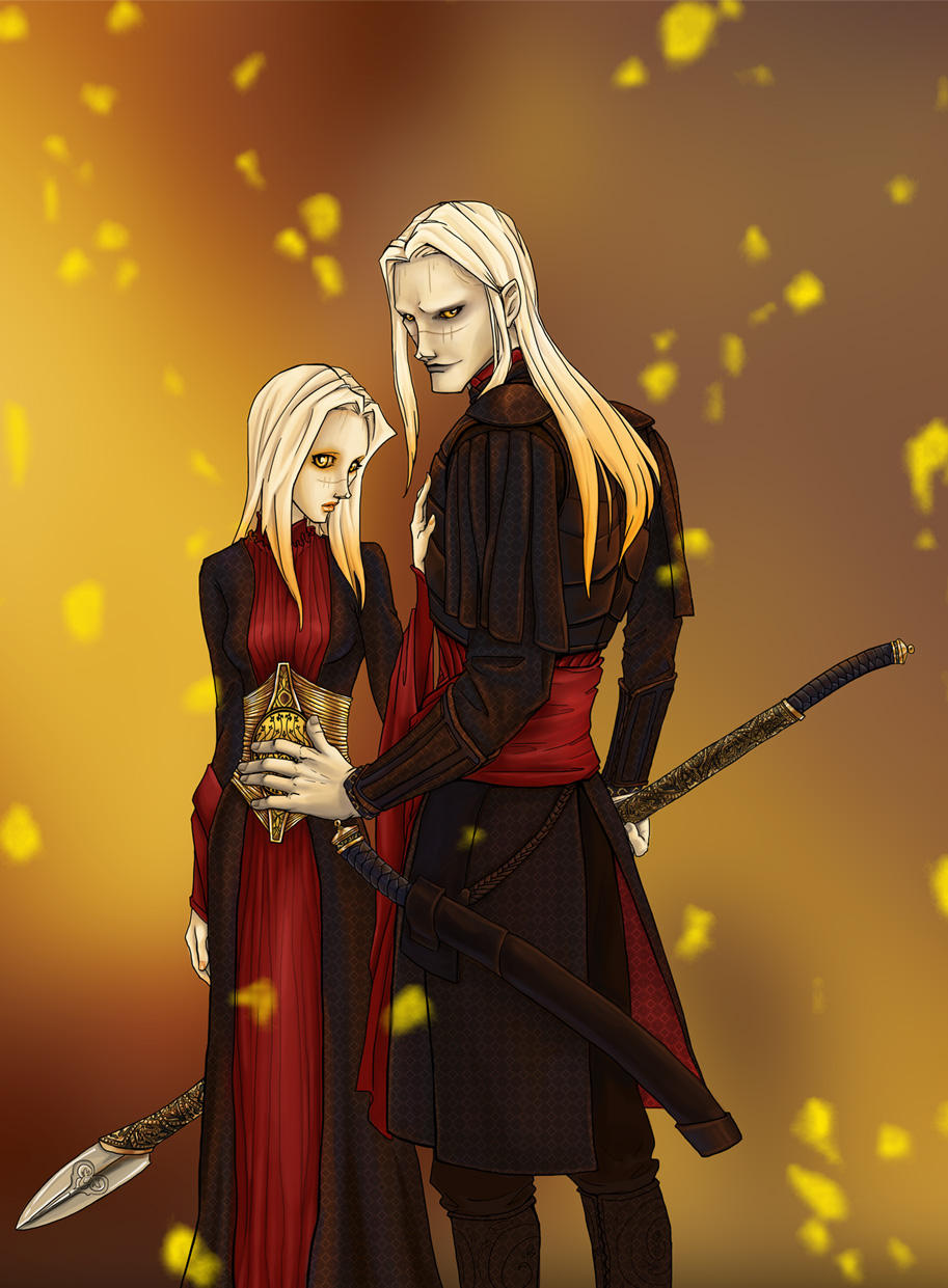 Nuada and Nuala by dlazaru