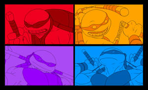 TMNT poster idea by Solblight
