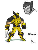 Wolverine by Solblight