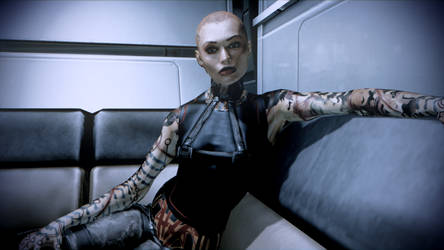 Jack - Mass Effect 2 (High-res/Illumination Mod) by LegionPlatform1183