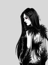 Black Raven Mood ~ by LeStrande