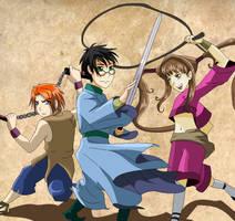 HP-Shaolin Wuzang by Avatar013