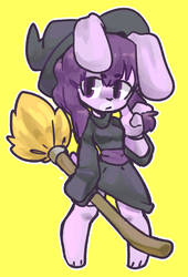 Witchy Violet by Murninatair