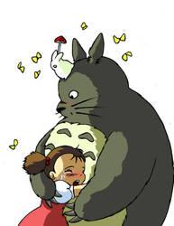 Totoro by Zias