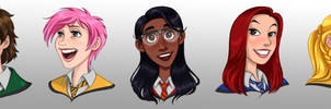 HPHM: Heroines of Hogwarts Mystery by Maloneyberry