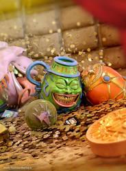 Commission: Treasury of Greed by andytantowibelzark