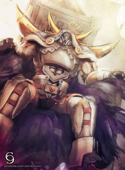 Commission: D/D/D Oblivion King Abyss Ragnarok by andytantowibelzark
