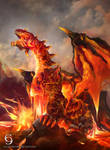 CM: Blaster, Dragon Ruler of Infernos by andytantowibelzark