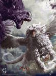 Judgement Dragon by andytantowibelzark