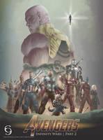 Avengers Infinity Wars by andytantowibelzark