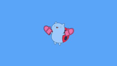 Catbug Wallpaper by Critchleyb
