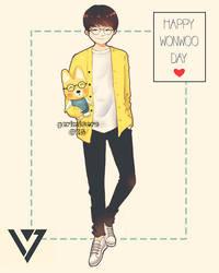 Happy Wonwoo Day! by ririss
