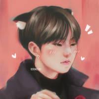 A sad kitty. by ririss