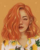 Luscious Orange by ririss