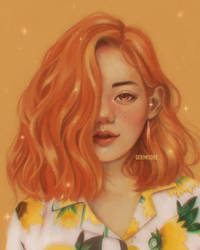 Luscious Orange by ririss