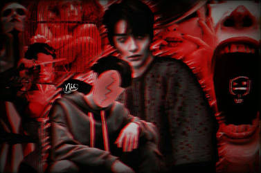 Halloween ft. Stray Kids by nicdrafts