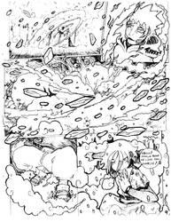 Lite Moon Page 8-9 ICE HALO CRUSH by ikzan