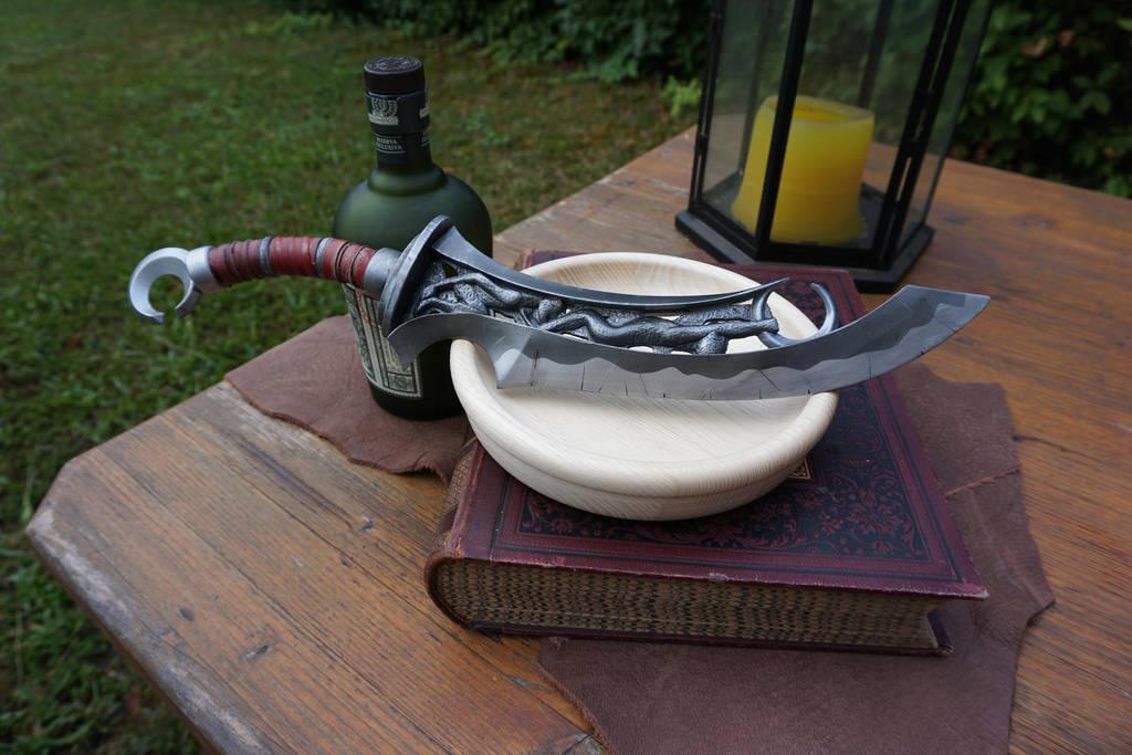 Makonde Dagger by kukprops